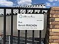 Plaque Rue Benoît Frachon - Villiers-sur-Marne (FR94) - 2021-05-07 - 2.jpg
