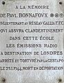 Plaque en mémoire de Paul Bonnafoux, rue Cavenne (août 2019) (cropped).jpg