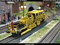 Plasser & Theurer USP 2000 SWS DB Bahnbau Kibri 16060 Modelismo Ferroviario Model Trains Modelleisenbahn modelisme ferroviaire ferromodelismo (13967205698).jpg