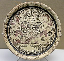 Euphorbos plate
