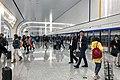 Platform of Daxing Airport Subway Station, arrivals (20191027073654).jpg