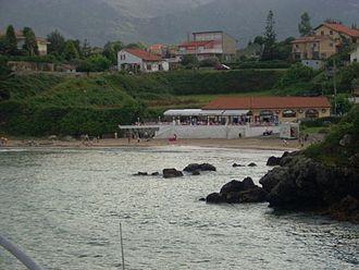 Celorio - La Palombina beach, in Celorio.