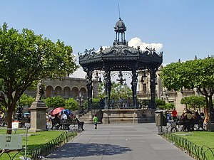 Plaza De Armas In The Heart Of The Historic Downtown
