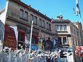Plaza de la memoria, República Cromañón - Edificio cercano al lugar.JPG