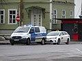 Police at Viru roundabout.JPG