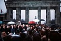 Politicians at Brandenburg Gate opening 1989.JPEG