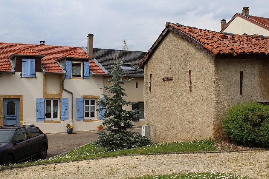 Pommérieux, site view