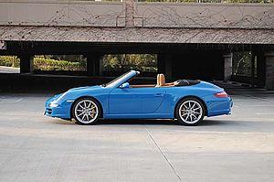 Porsche 997 - 2006 Porsche Carrera S Cabriolet
