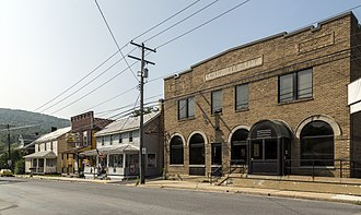 State College-DuBois, PA Combined Statistical Area - Image: Port Matilda PA1