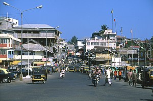 Port Blair - Centre of Port Blair in December 2004.
