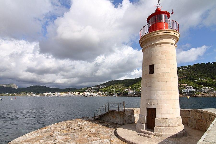 Port d'Andratx, faro