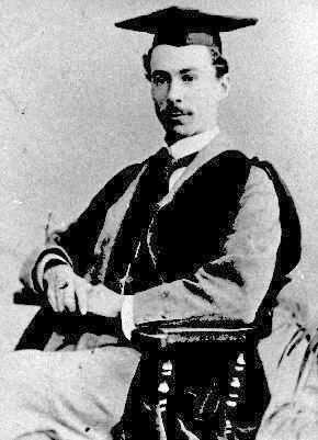 Portrait of Bertrand Russell in 1893