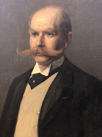 Maximilian Berlitz - Portrait of Maximilian Berlitz