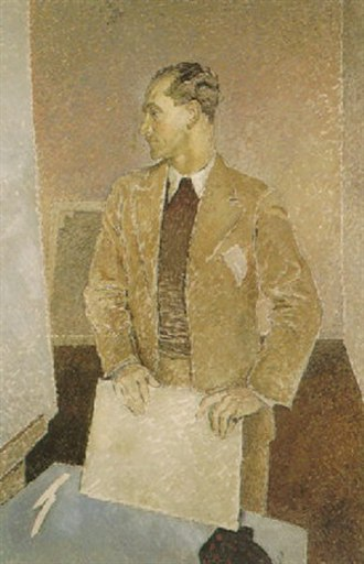 Vivian Forbes - Portrait of Vivian Forbes by Glyn Philpot