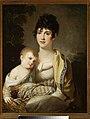 Portret Teofili z Morawskich Radziwiłłowej z synkiem Aleksandrem Dominikiem lub córeczką Stefanią.jpg