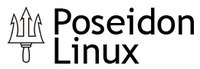 The logo of Poseidon linux