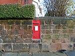Post box on Prince Alfred Road, Wavertree.jpg