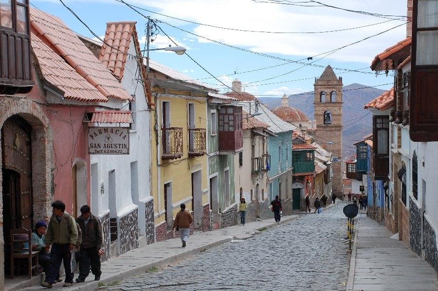 Potosi Street Scene