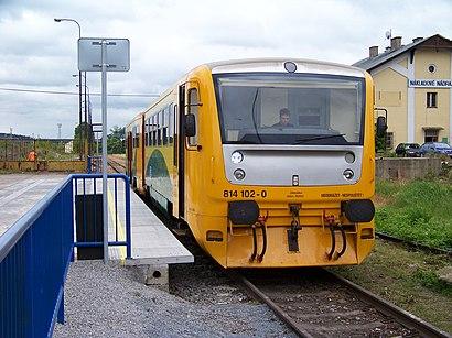 How to get to Praha-Smíchov Na Knížecí with public transit - About the place