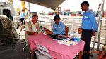 Preliminary medical check-up on board INS Tarkash.jpg