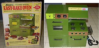 Easy-Bake Oven - Second version of the Easy-Bake oven - the Premier model - released in 1969.
