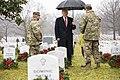 President Donald J. Trump Visits Arlington National Cemetery (46303267902).jpg