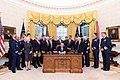 President Donald J. Trump signs S.140 The Frank LoBiondo Coast Guard Authorization Act of 2018.jpg