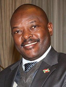 President Nkurunziza of Burundi (6920275109) (cropped)