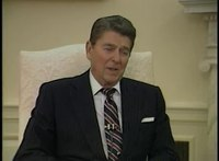 File:President Reagan's Interview with the Dallas Morning News in the Oval Office on January 8, 1985.webm