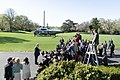 President Trump Departs the South Lawn (46663971755).jpg