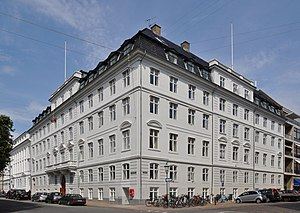 Prince William Mansion, Copenhagen - The mansion seen from Sankt Annæ Plads