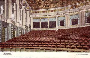Prinzregententheater - Prinzregententheater, ca. 1910