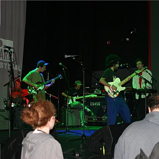 Professor Caveman American rock band