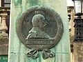 Profile, Edward VII memorial, Parade Gardens, Bath - geograph.org.uk - 717259.jpg