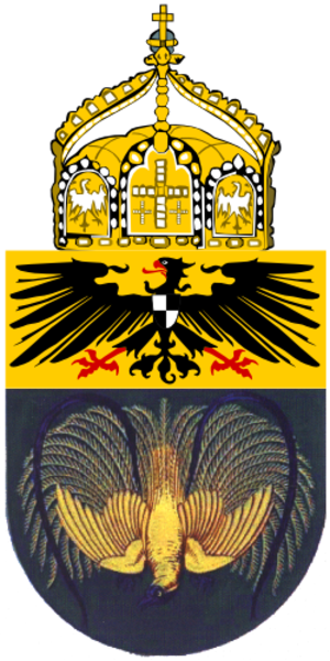 Coats of arms of German colonies - Image: Proposed Coat of Arms New Guinea 1914