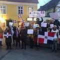 Protestas dominicanas en Austria 2020.jpg