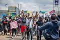 Protesters at the endSARS protest in Lagos, Nigeria 54.jpg