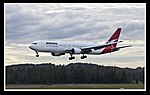 QANTAS VH OGV 767-300 landing Canberra-1 (5513909328).jpg