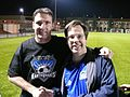Quakes End of Season Autographs Oct 25 2008- Joe Cannon & Me (3059483047).jpg