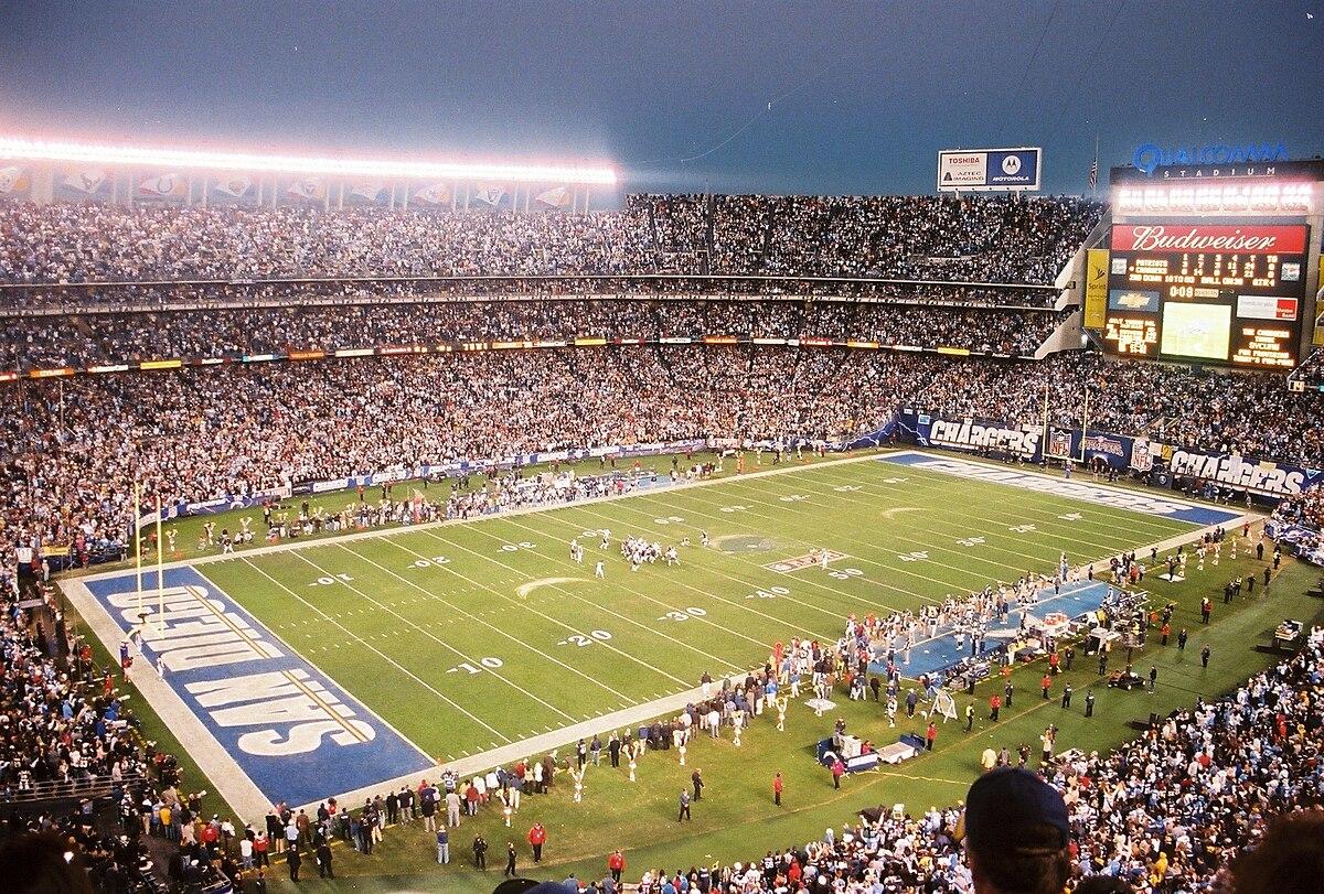 SDCCU Stadium - Wikipedia Qualcomm Stadium Chargers