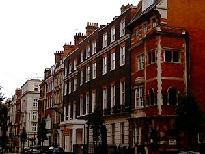 Queen's College, London - 43–49 Harley Street facade
