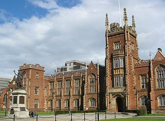 Queen's University Belfast - The Lanyon Building, Queen's University Belfast