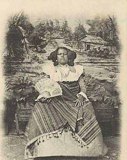 a queen of the Sakalava people