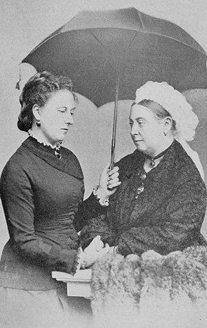 King Kalākaua's world tour - Queen Victoria and Princess Beatrice