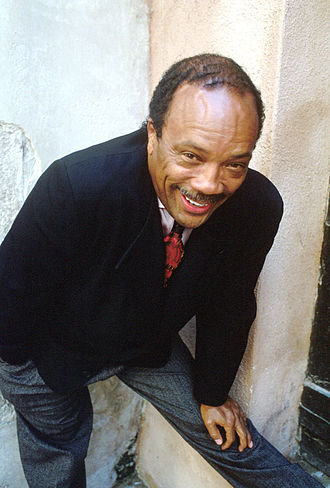 Quincy Jones - Quincy Jones in Venice in 1989