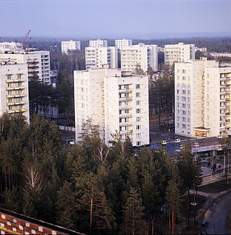 Protvino - Image: RIAN archive 501537 Protvino town
