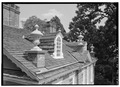ROOF DETAIL - Cliveden, 6401 Germantown Avenue, Philadelphia, Philadelphia County, PA HABS PA,51-GERM,64-21.tif