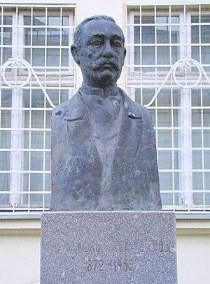 Alexandru Vaida-Voevod - Bust of Alexandru Vaida-Voevod in Alba Iulia