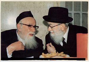 Shlomo Zalman Auerbach - Shlomo Zalman Auerbach with Gedaliah Eiseman (1989)