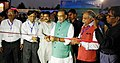 Radha Mohan Singh and the Minister of State for Petroleum and Natural Gas (Independent Charge), Shri Dharmendra Pradhan jointly inaugurating the 'National Level mega exhibition UCCI- Expo 2017', at Bhubaneswar, Odisha.jpg